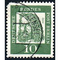 121: Германия (Западный Берлин), почтовая марка, 1961 год