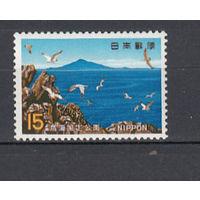 Национальный парк. Япония. 1969. 1 марка (полная серия). Michel N 1032 (0,5 е)