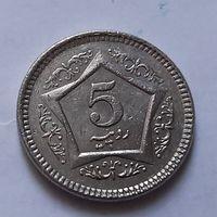 5 рупий 2005 г. Пакистан