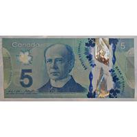 Канада 5 долларов 2013г., VF
