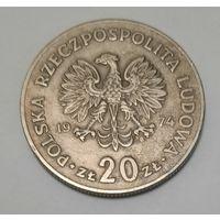 Польша 20 злотых 1974