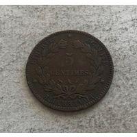 Франция 5 сантимов 1892