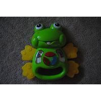 Музыкальная игрушка лягушка бу