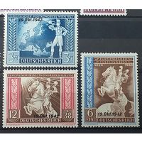 10.1942 - Подписание Европейского почтового соглашения в Вене