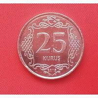 61-09 Турция, 25 куруш 2015 г.