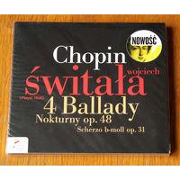 Chopin. 4 ballady / Nokturny op. 48 / Scherzo - Wojciech Switala (Audio CD - 2012)