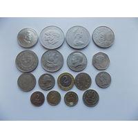 Лот не частых монет