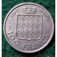100 франков  1956 Монако