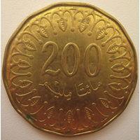 Тунис 200 миллим 2013 г.