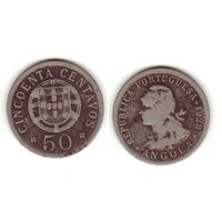 Португальская Ангола 50 центавос 1928