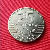24-01 Коста-Рика, 25 колон 2007 г.