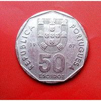 82-01 Португалия, 50 эскудо 1987 г.