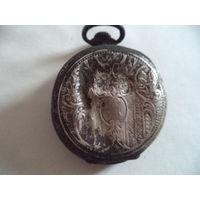 Часы карманные серебро