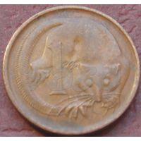 1206:  1 цент 1966 p Австралия