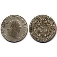 4 гроша серебром (Злотый) 1767 FS, Станислав Август Понятовский, R