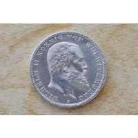 Вюртемберг 3 марки 1912