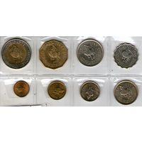 Ливия набор из 8 монет.