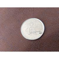 25 центов 2007 Канада ( X зимние Паралимпийские Игры, Ванкувер 2010 - Кёрлинг на колясках )