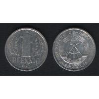 Германия (ГДР) _km8.2 1 пфенниг 1981 год (f50)(ks00)
