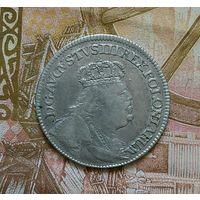 Орт 18 грошей 1754 г Сохран