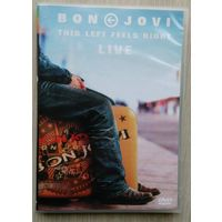 DVD. Bon Jovi. This Lift Feels Right. Live