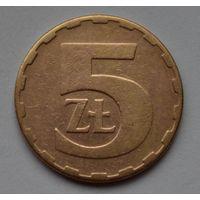 Польша 5 злотых, 1981 г.