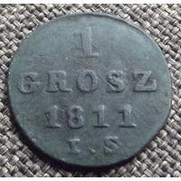 Польша. 1 грош 1811