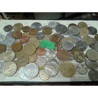 С рубля! 70 монет, весь Мир, но без СССР, УК и РФ (лот#6Y). Сегодня и завтра- новые аукционы!