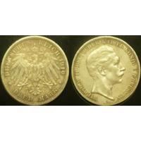 3 марки 1910 г Пруссия