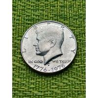 США 50 цент 1976