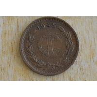 Мексика 1 цент 1945