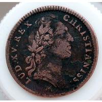 Людовик XV Король христиан 1754