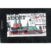 Германия.Город Любек 800 лет 1173-1973
