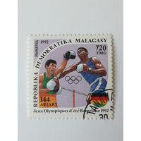Мадагаскар 1992. Летние олимпийские игры.