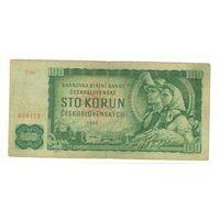 Чехословакия, 100 крон, 1961 года.