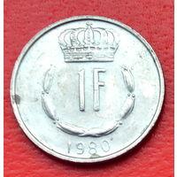 32-31 Люксембург, 1 франк 1980 г.