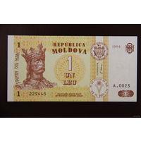 Молдова 1 лей 1994 UNC