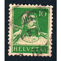 41: Швейцария, почтовая марка, 1914 год, номинал 10с, SG#280