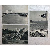 Открытки Казань Углич Кисловодск 3 шт. почту не проходили 1955 и 1958 гг.