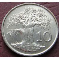 3847:  10 центов 1999 Зимбабве