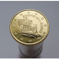 10 евроцентов 2011 Кипр UNC из ролла