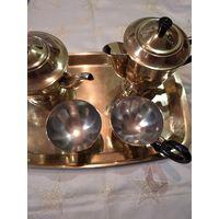 Латунный набор для кофе и чая