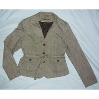 Пиджак Amisu на прохладную погоду р.48, высокий рост, утолщённая ткань