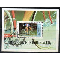 Велоспорт Верхняя Вольта 1980 год 1 блок