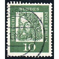 122: Германия (Западный Берлин), почтовая марка, 1961 год