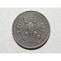 Пруссия 1 талер 1867г