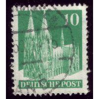 1 марка 1948 год Германия Бр. зона оккупации 80
