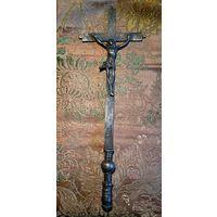 Крест настольный католический