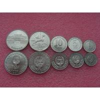 Корея Северная/КНДР набор 1959-1987 UNC