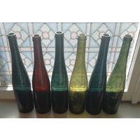 Бутылки ПМВ, высокие
